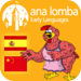 Ana Lomba's Spanish for Kids: The Red Hen (Bilingual Spanish-Chinese S